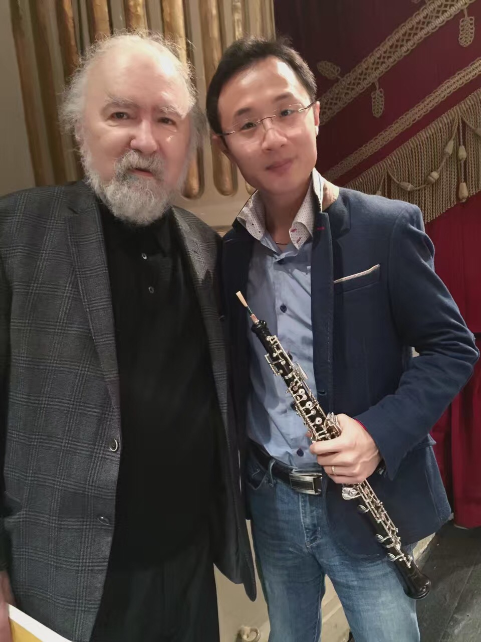 Concert of La Scala with Mr. Radu Lupu